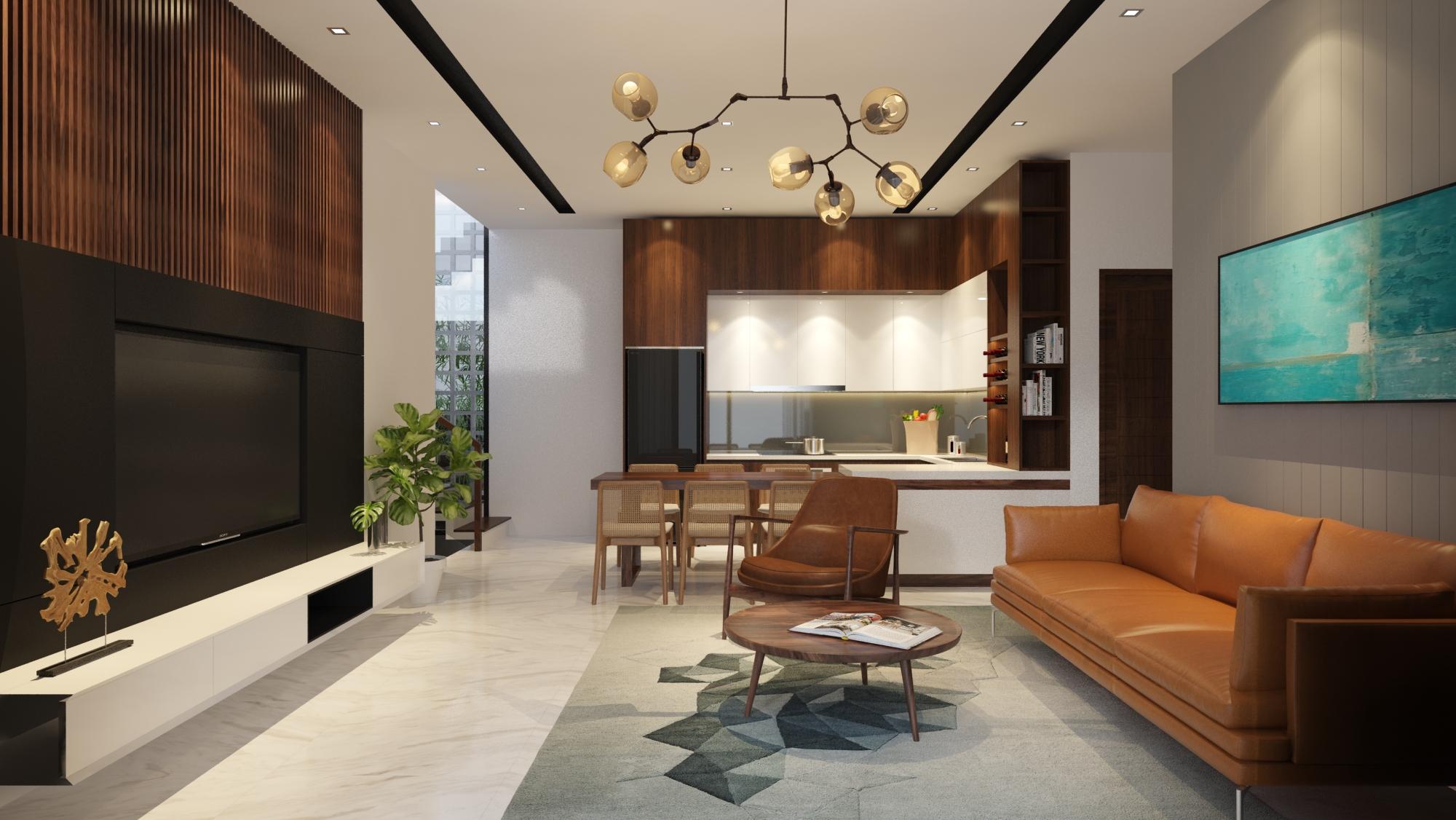 Thiết kế Nhà Mặt Phố tại Đà Nẵng LC HOUSE 1587710443 1