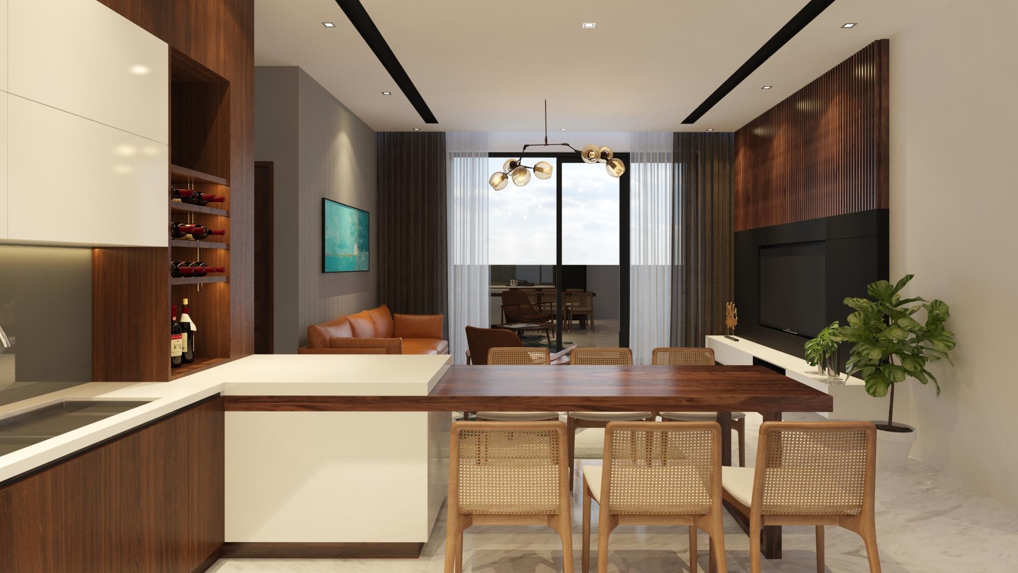 Thiết kế Nhà Mặt Phố tại Đà Nẵng LC HOUSE 1587710443 5