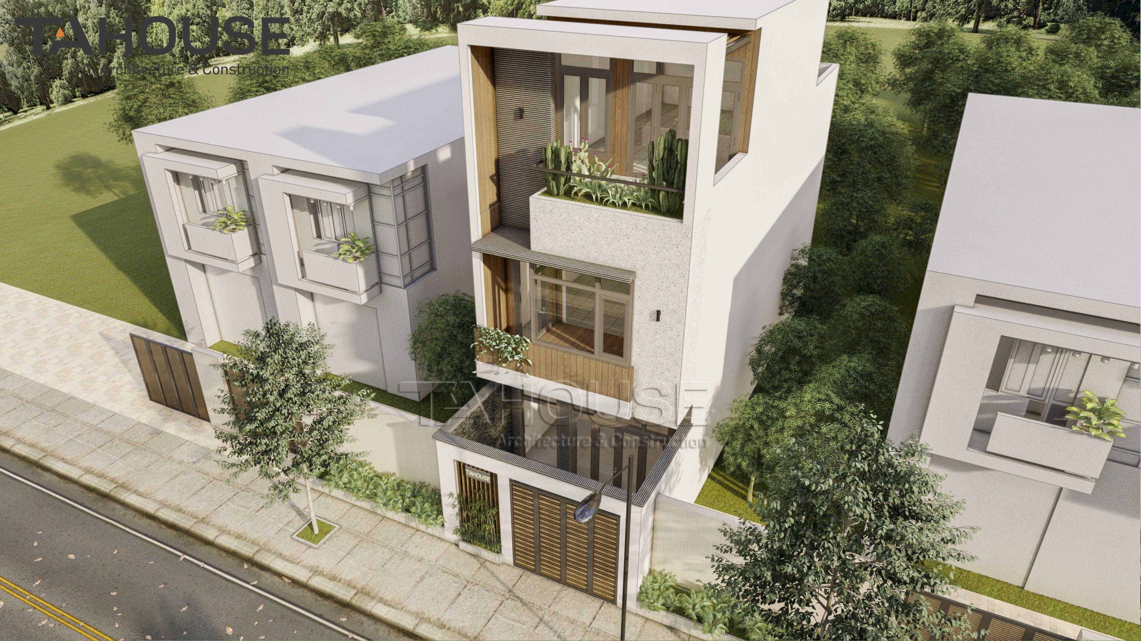 Thiết kế Nhà Mặt Phố tại Hồ Chí Minh Nhà Phố TA HOUSE 1625739817 2