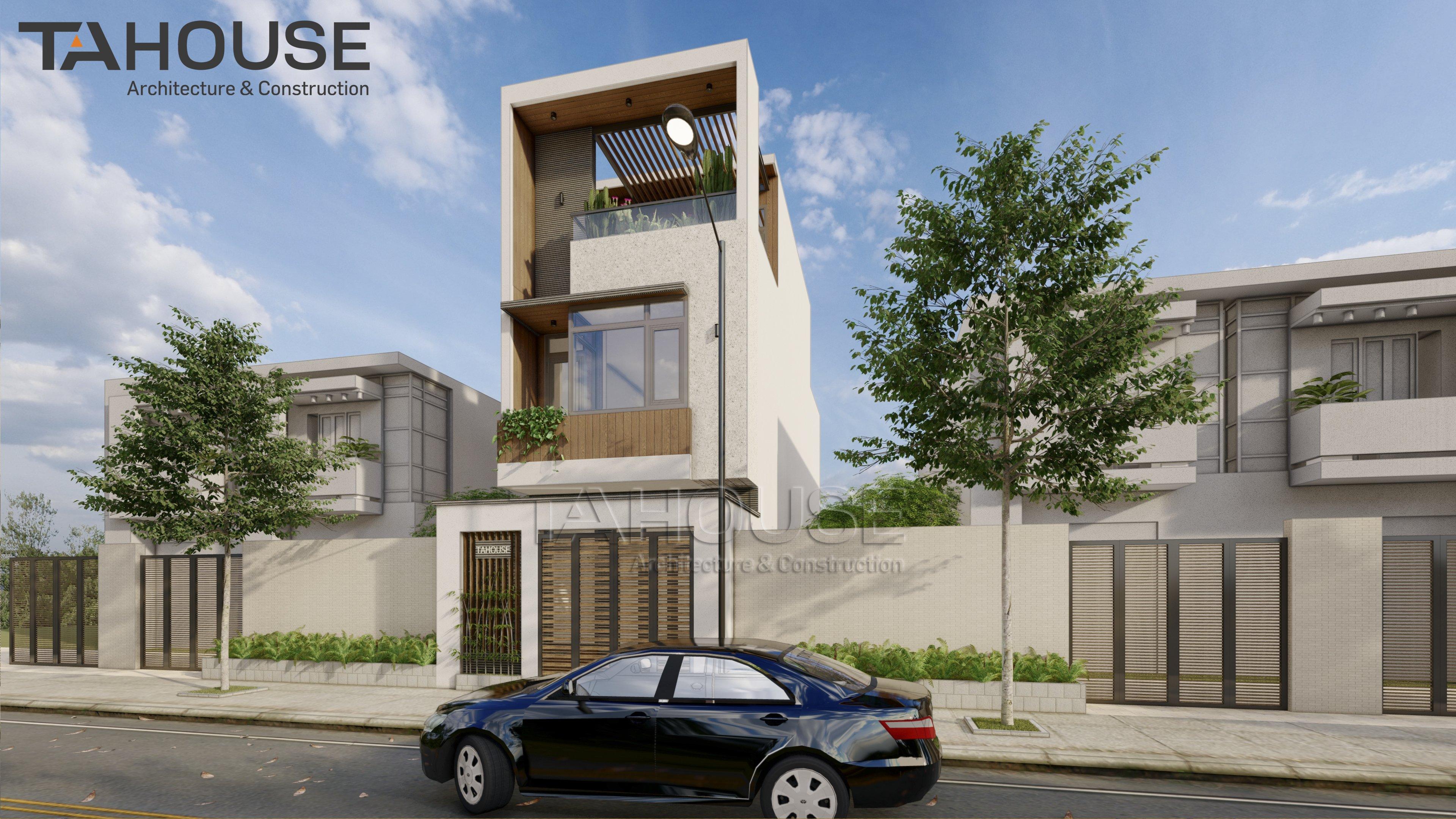 Thiết kế Nhà Mặt Phố tại Hồ Chí Minh Nhà Phố TA HOUSE 1625739817 3