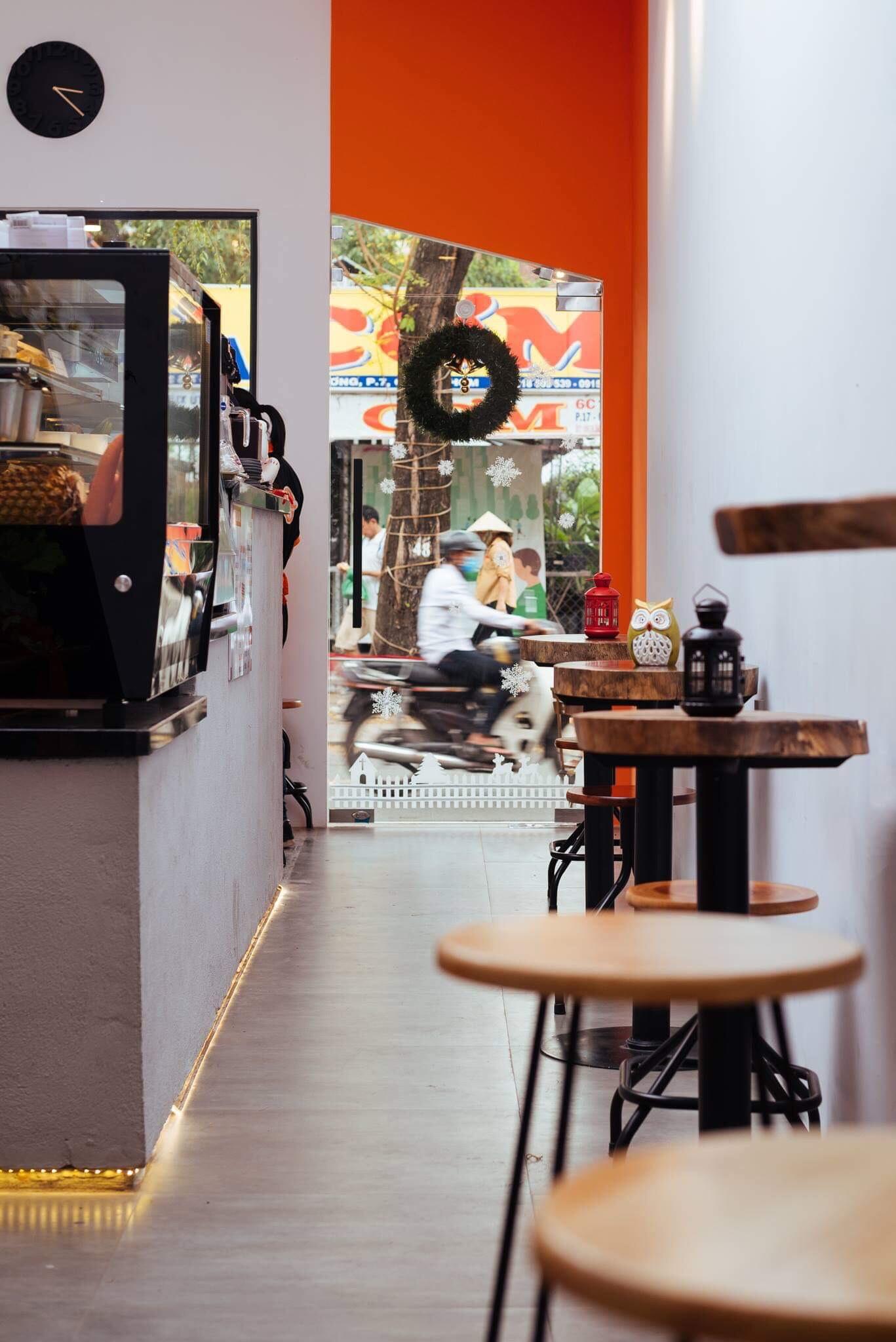 thiết kế Nội thất Cafe Coffee Bike  21A Tú Xương64