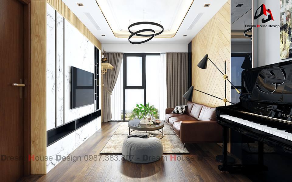 thiết kế nội thất chung cư tại Hà Nội GOLDMARK APARTMENT 0 1555570975