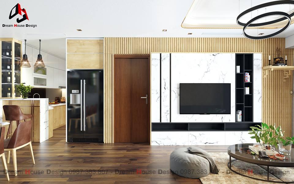 thiết kế nội thất chung cư tại Hà Nội GOLDMARK APARTMENT 8 1555570976