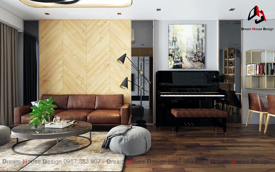 thiết kế nội thất chung cư tại Hà Nội GOLDMARK APARTMENT 9 1555570976