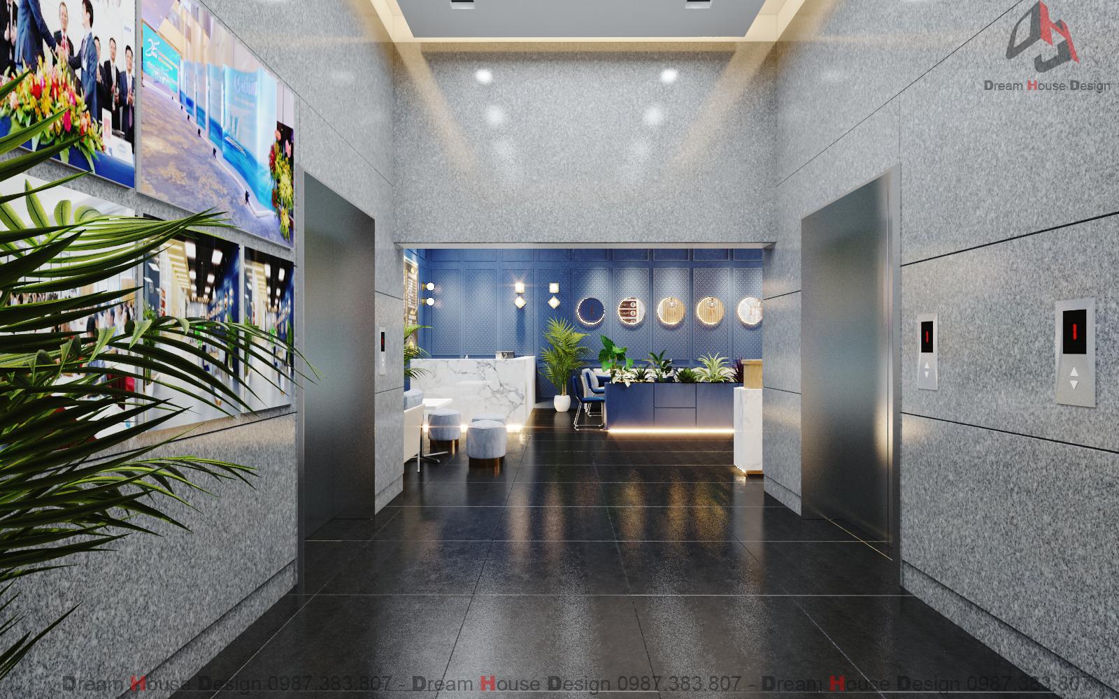 thiết kế nội thất Văn Phòng tại Hà Nội SẢNH VĂN PHÒNG TÒA NHÀ HANCORP PLAZA 5 1553137335