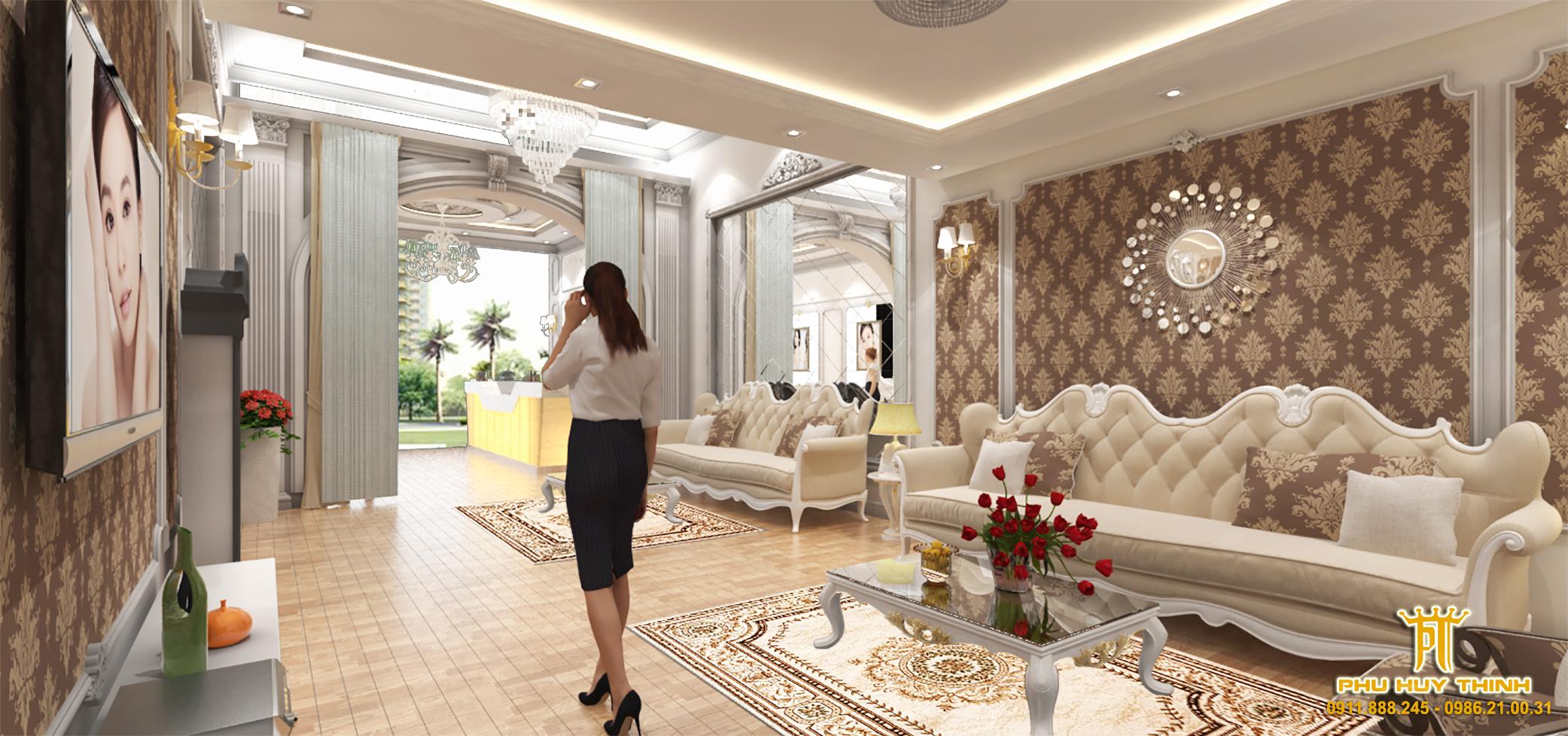 thiết kế nội thất Spa tại Đà Nẵng Le Park Spa 0 1537532050