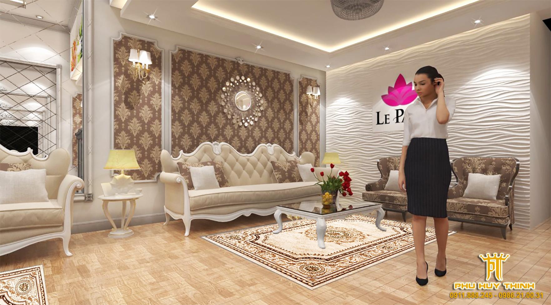 thiết kế nội thất Spa tại Đà Nẵng Le Park Spa 1 1537532053