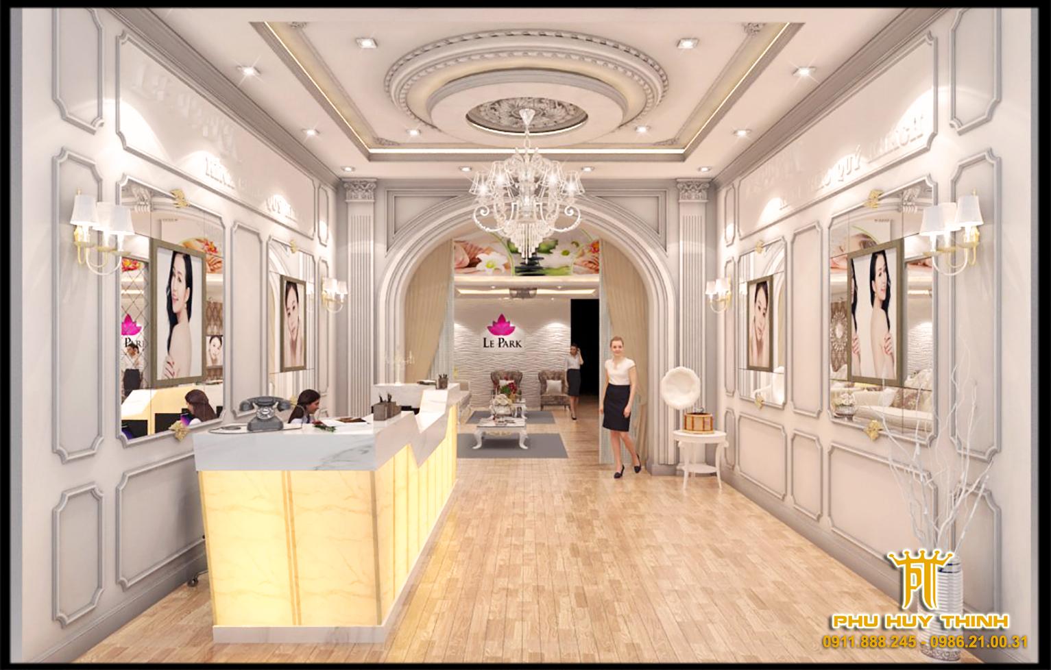 thiết kế nội thất Spa tại Đà Nẵng Le Park Spa 3 1537532063