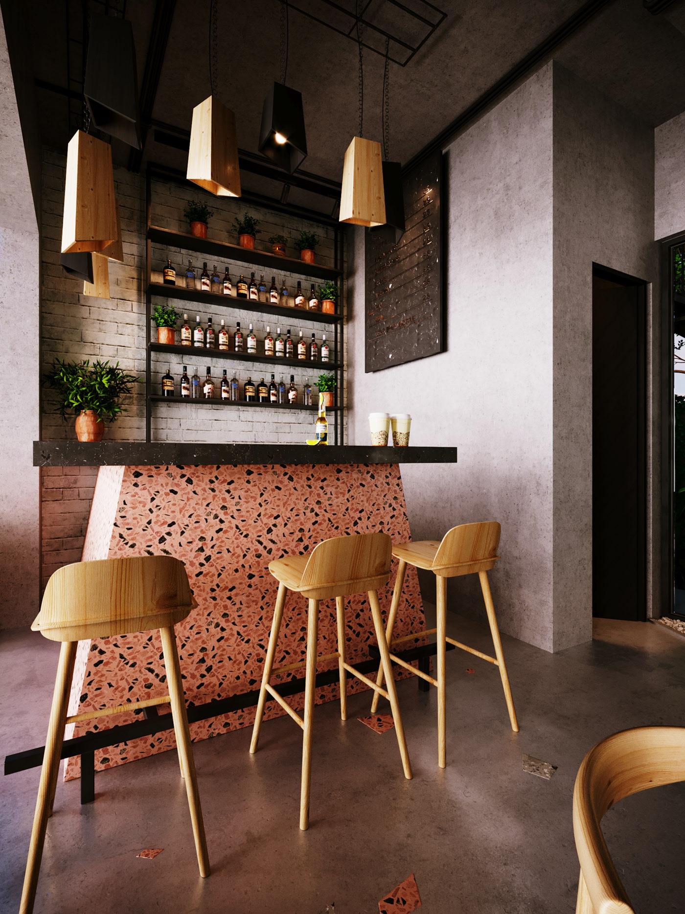 Thiết kế nội thất Biệt Thự tại Long An villa gia phú viên 1573618033 8