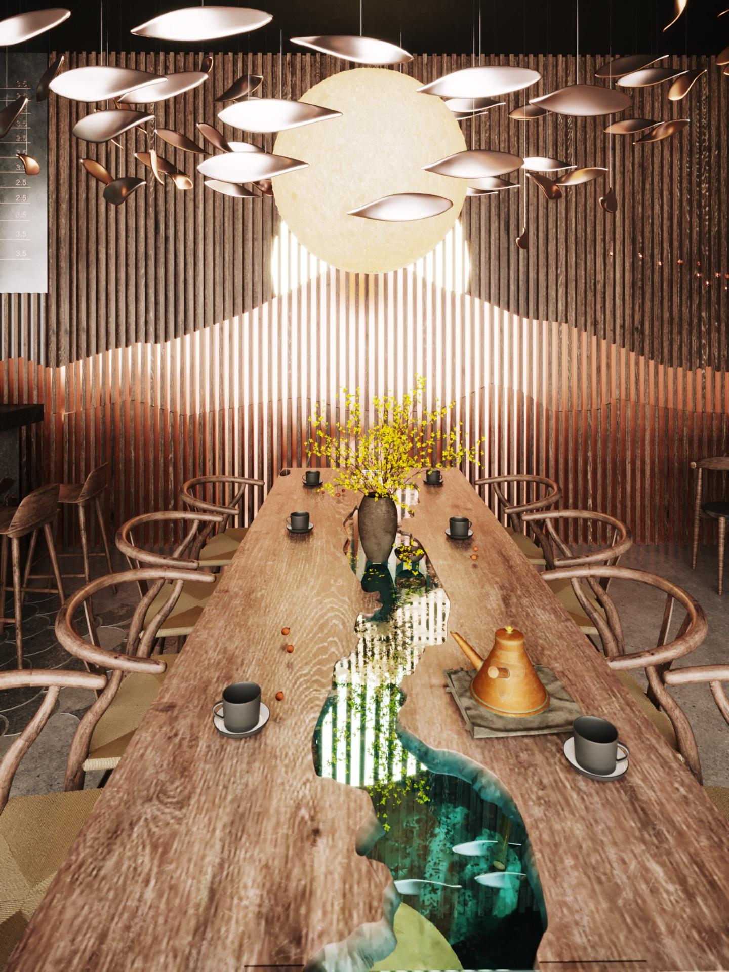 thiết kế nội thất Cafe tại Hà Nội caffee koi 0 1569649984