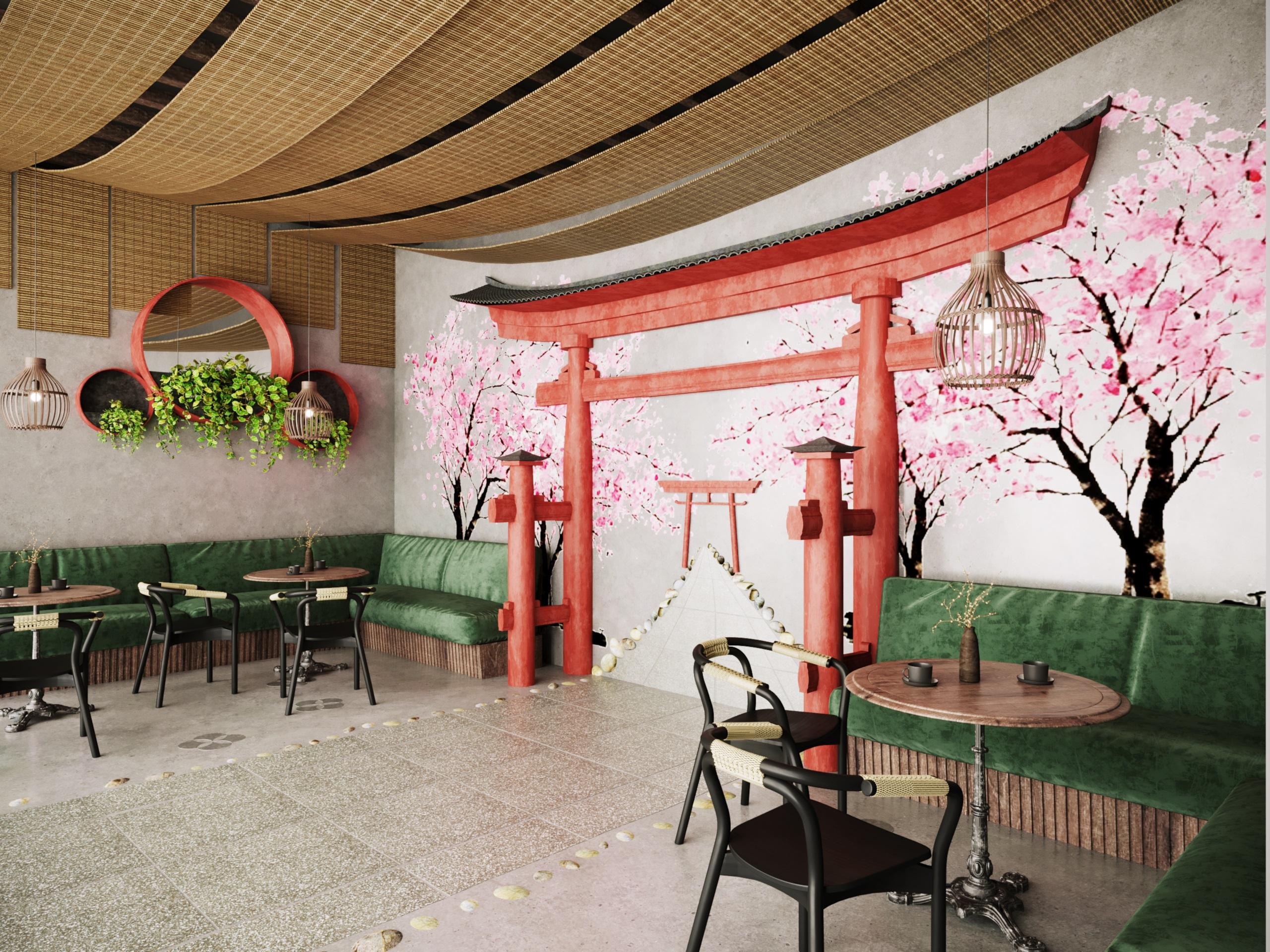 thiết kế nội thất Cafe tại Hà Nội caffee koi 10 1569649988
