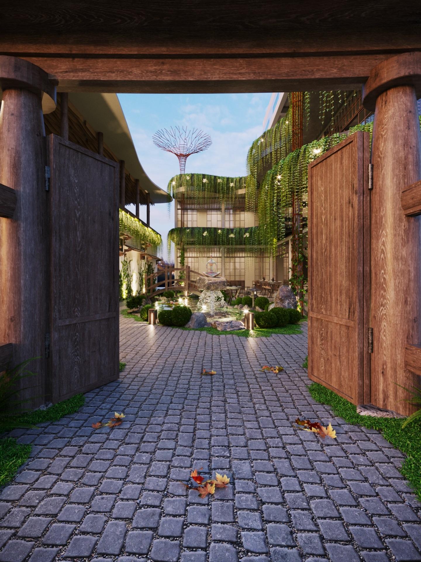 thiết kế nội thất Cafe tại Hà Nội caffee koi 15 1569649990
