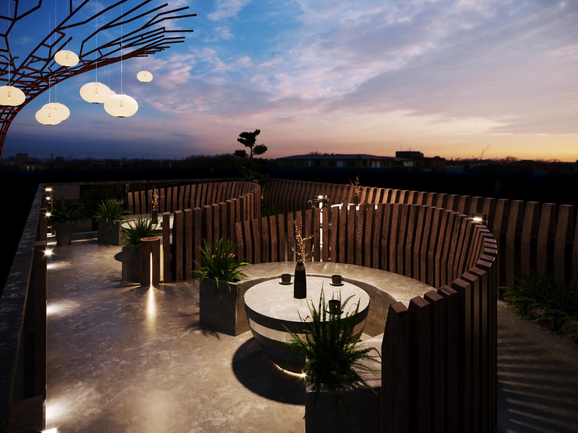 thiết kế nội thất Cafe tại Hà Nội caffee koi 18 1569649991
