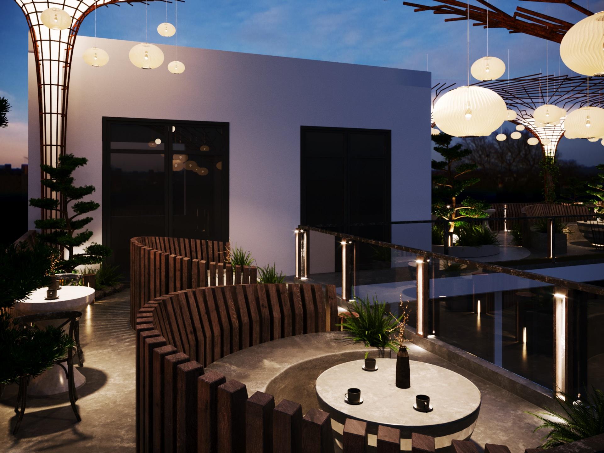 thiết kế nội thất Cafe tại Hà Nội caffee koi 19 1569649991