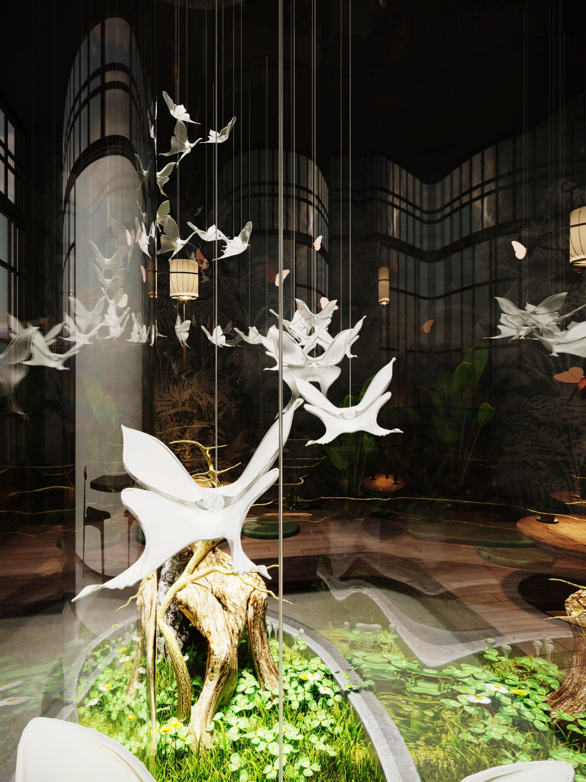 thiết kế nội thất Cafe tại Hà Nội caffee koi 20 1569649993