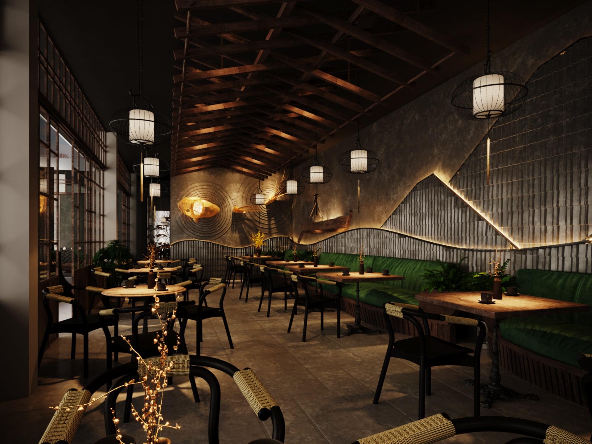 thiết kế nội thất Cafe tại Hà Nội caffee koi 26 1569649995