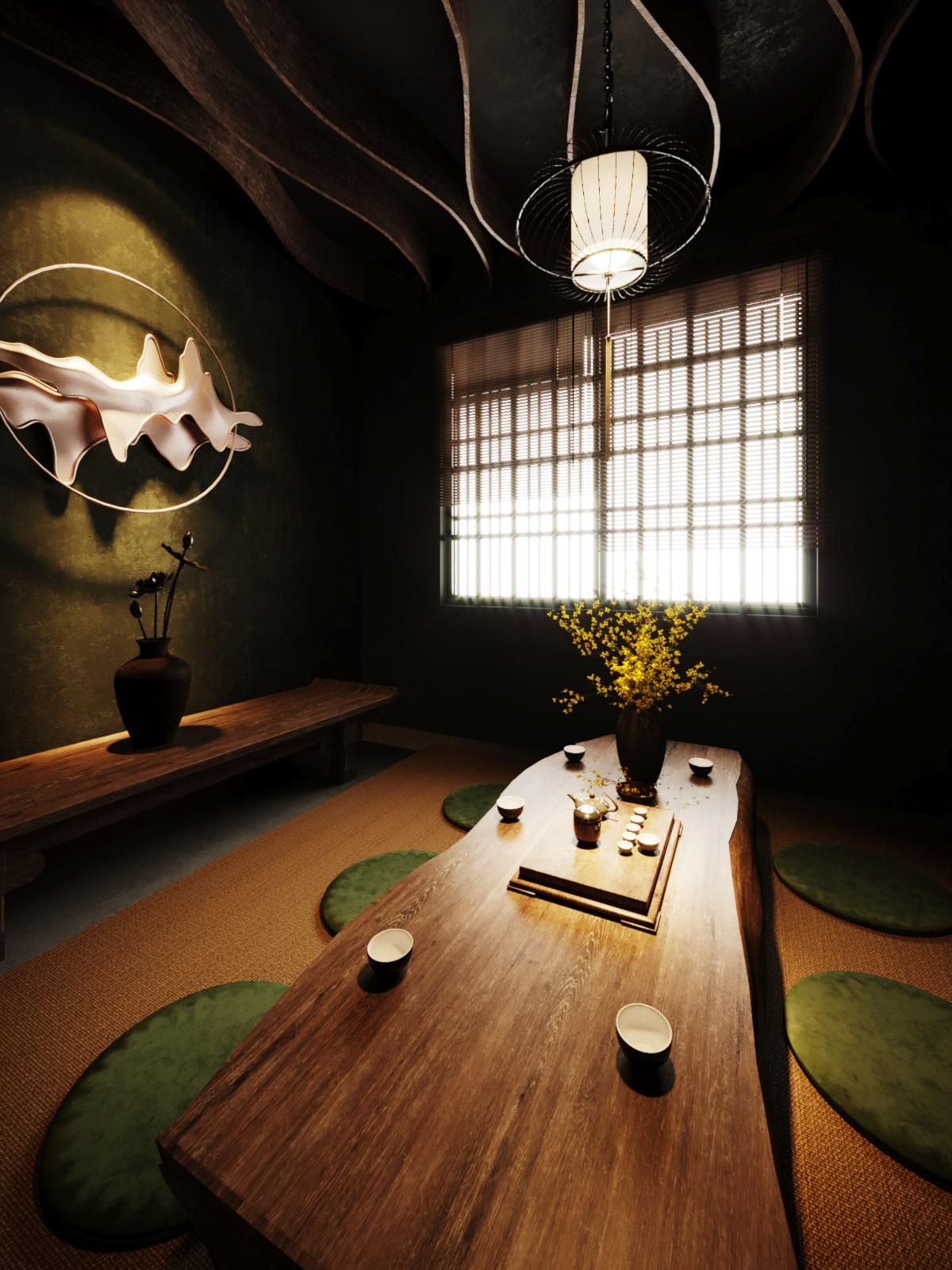 thiết kế nội thất Cafe tại Hà Nội caffee koi 28 1569649995