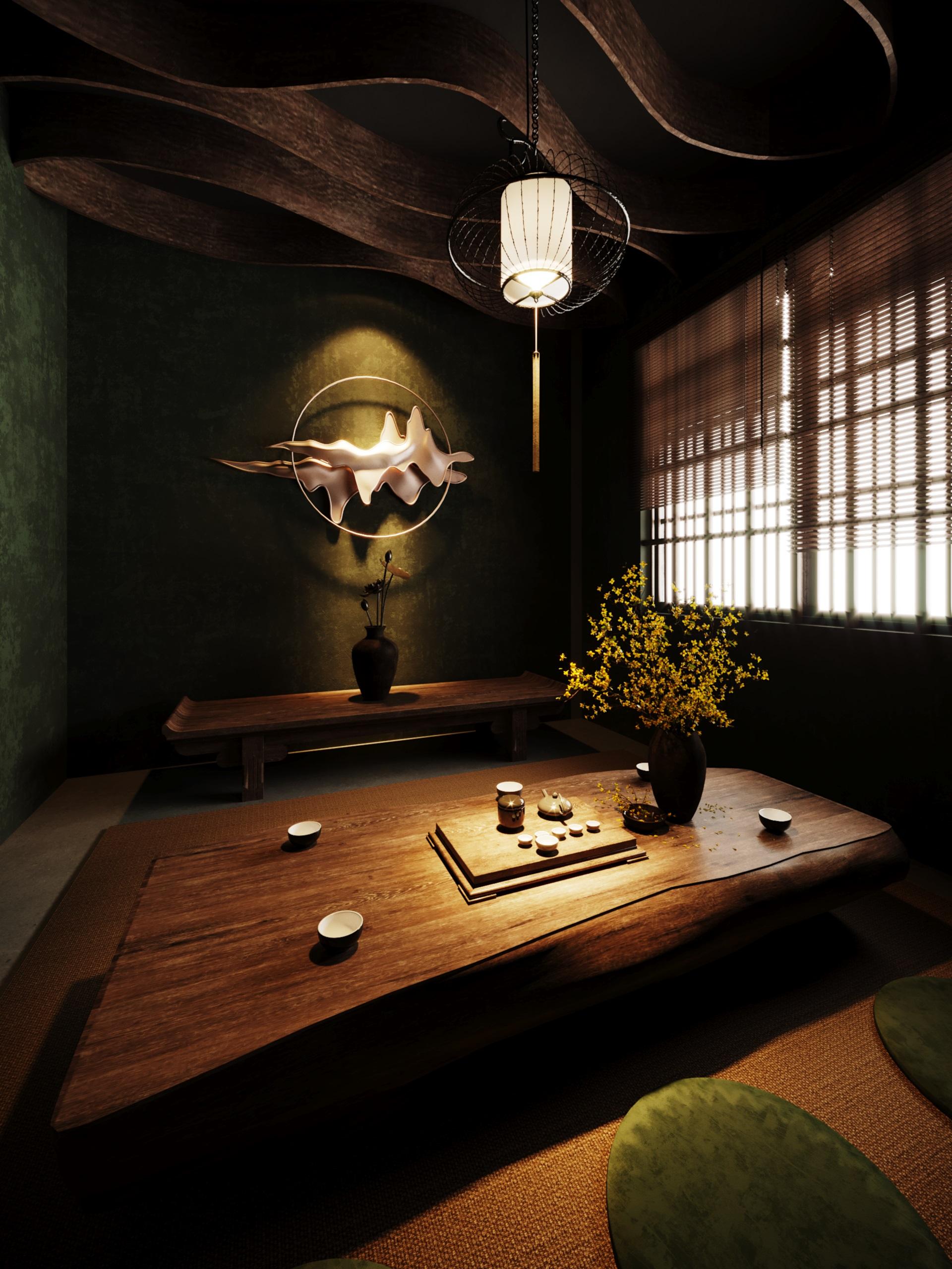 thiết kế nội thất Cafe tại Hà Nội caffee koi 29 1569649997