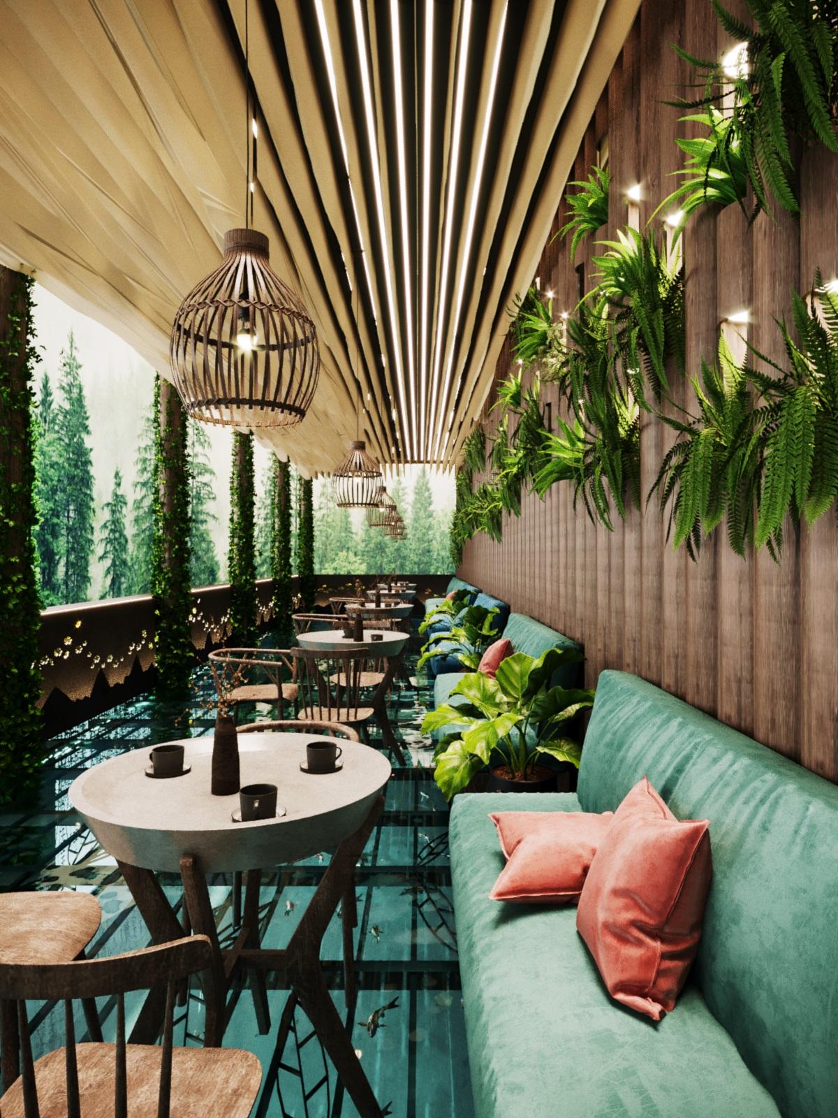 thiết kế nội thất Cafe tại Hà Nội caffee koi 3 1569649984