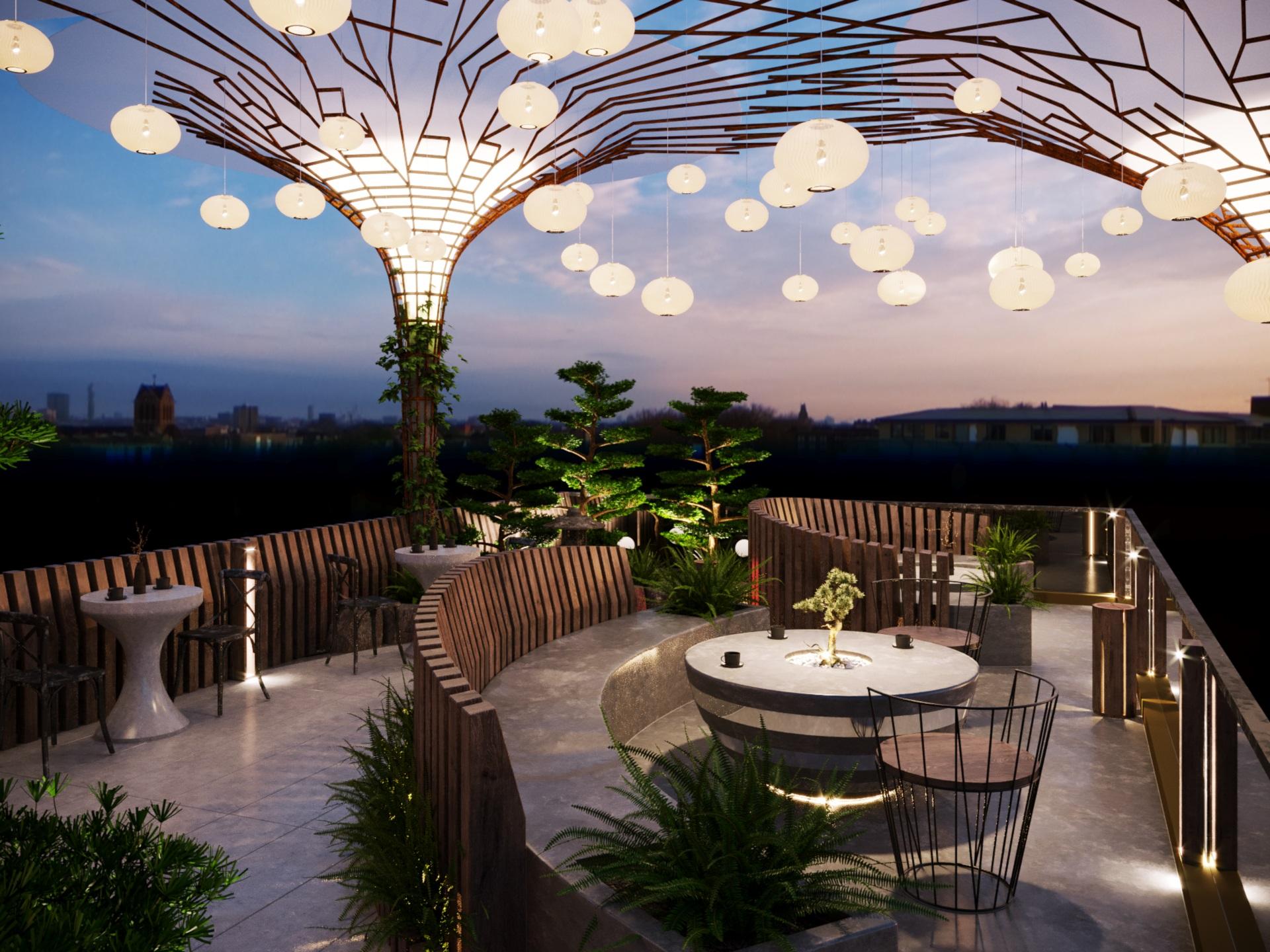 thiết kế nội thất Cafe tại Hà Nội caffee koi 5 1560229076
