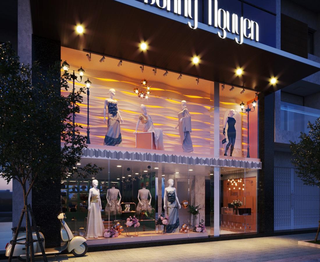 thiết kế nội thất Shop tại Hà Nội SHOP THỜI TRANG DANNY NGUYEN 0 1569650996
