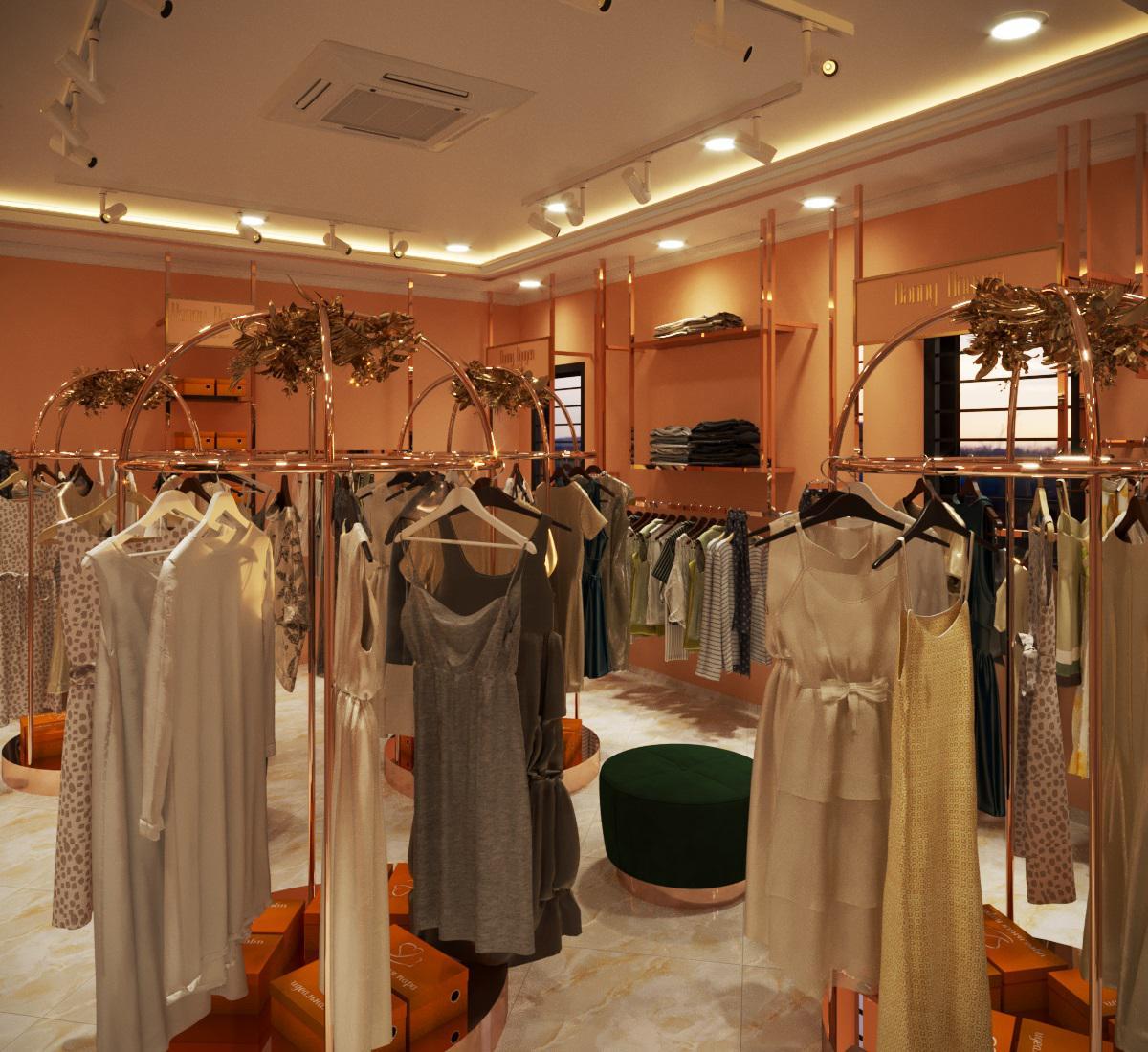 thiết kế nội thất Shop tại Hà Nội SHOP THỜI TRANG DANNY NGUYEN 10 1569650997