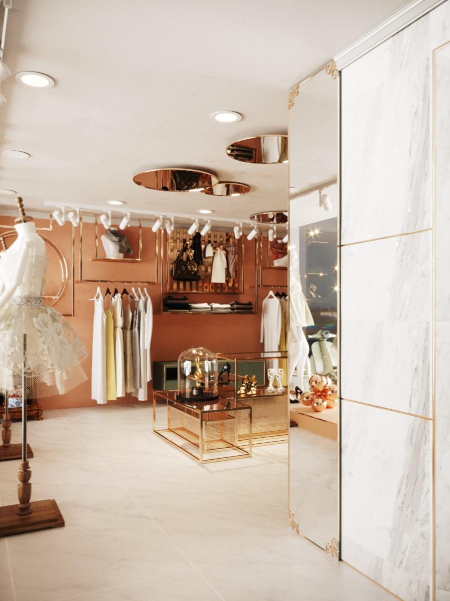 thiết kế nội thất Shop tại Hà Nội SHOP THỜI TRANG DANNY NGUYEN 1 1569650996
