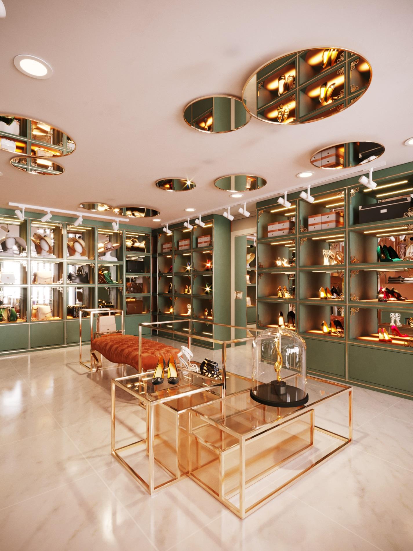thiết kế nội thất Shop tại Hà Nội SHOP THỜI TRANG DANNY NGUYEN 12 1569650999
