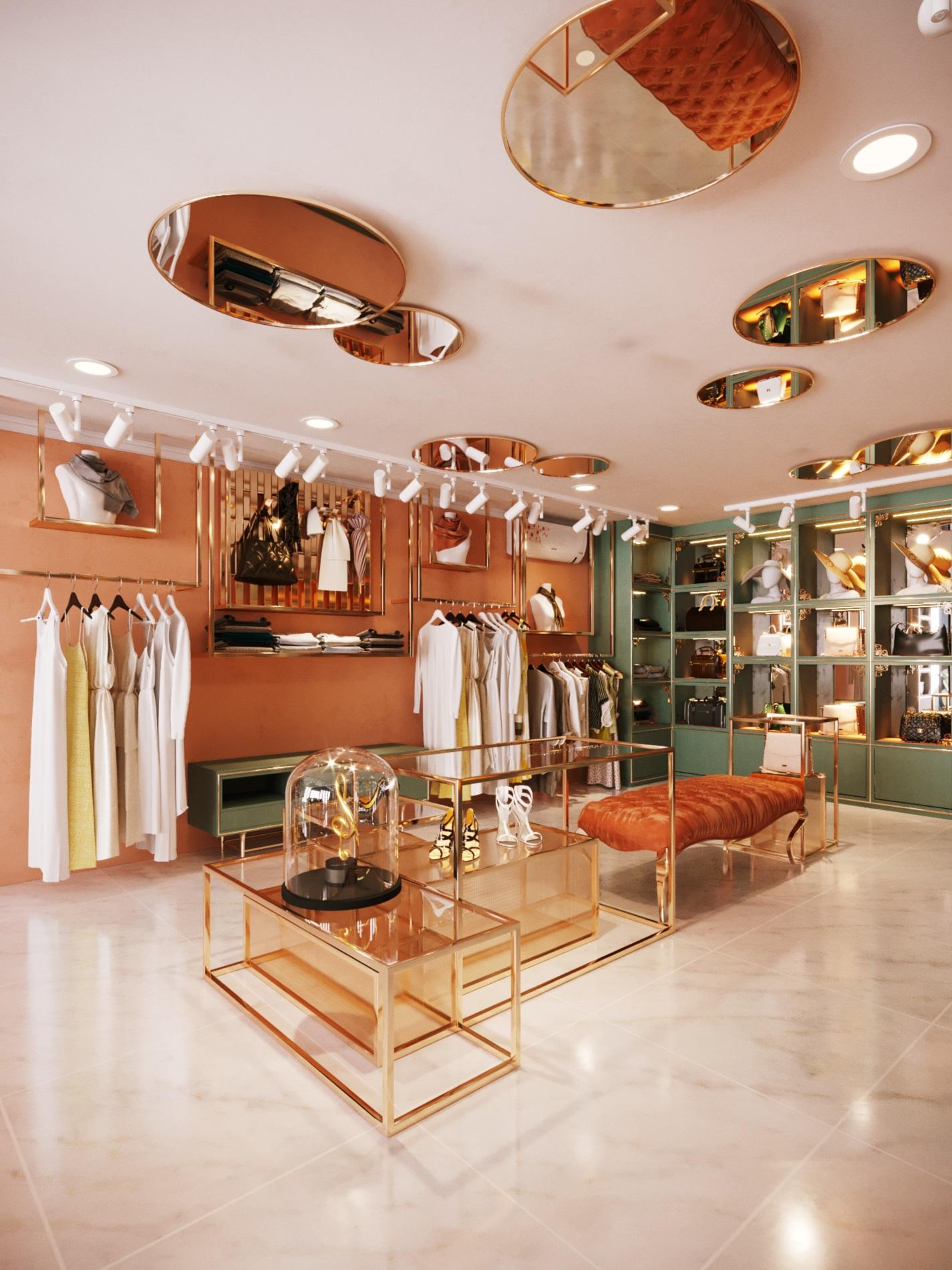 thiết kế nội thất Shop tại Hà Nội SHOP THỜI TRANG DANNY NGUYEN 13 1569650999