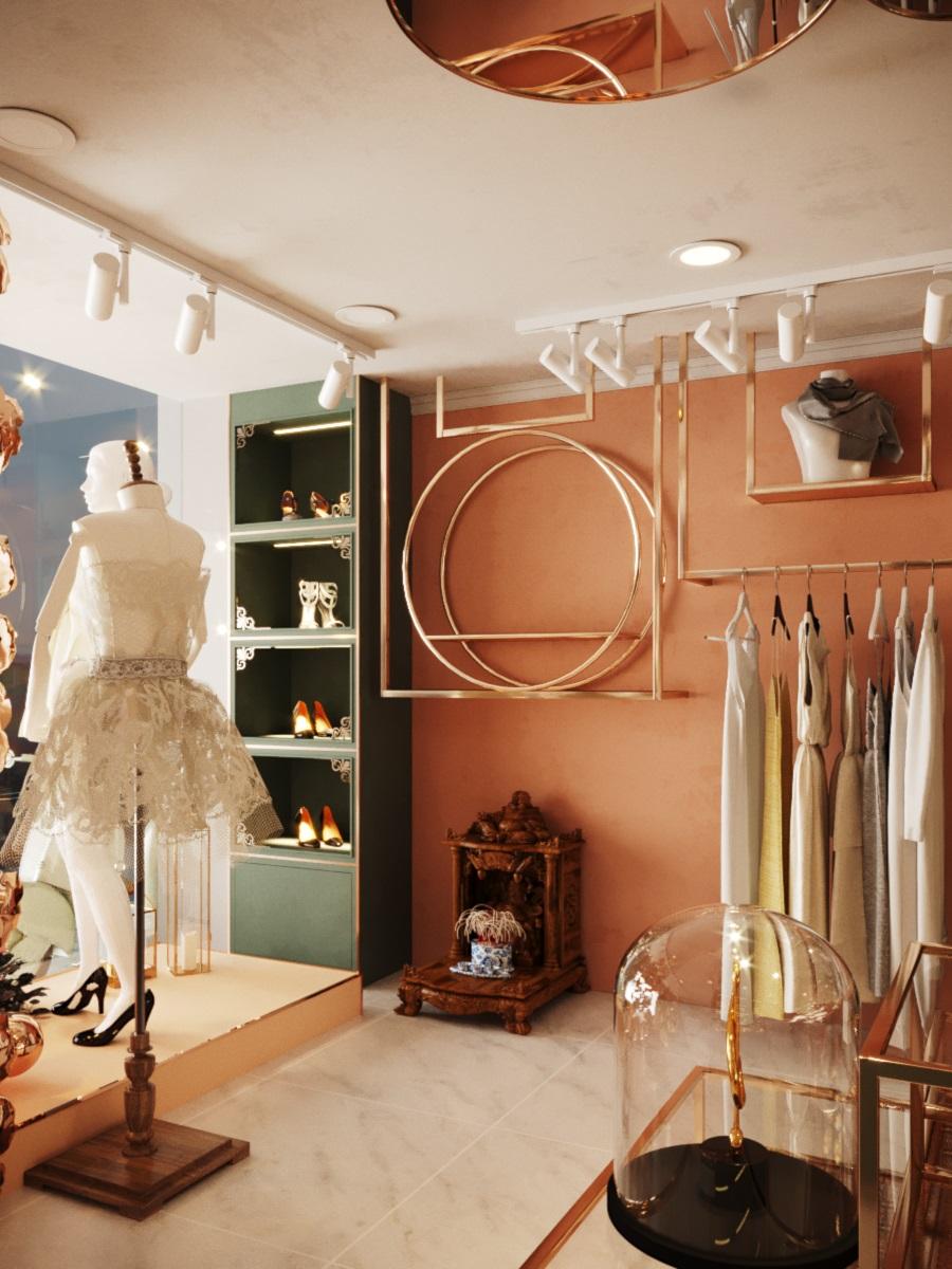 thiết kế nội thất Shop tại Hà Nội SHOP THỜI TRANG DANNY NGUYEN 2 1569650996