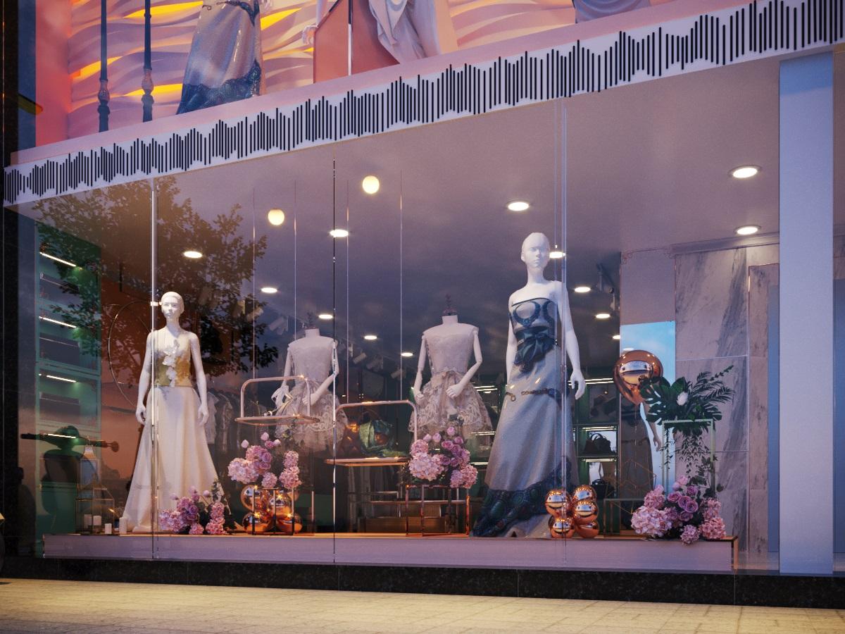 thiết kế nội thất Shop tại Hà Nội SHOP THỜI TRANG DANNY NGUYEN 3 1569650996