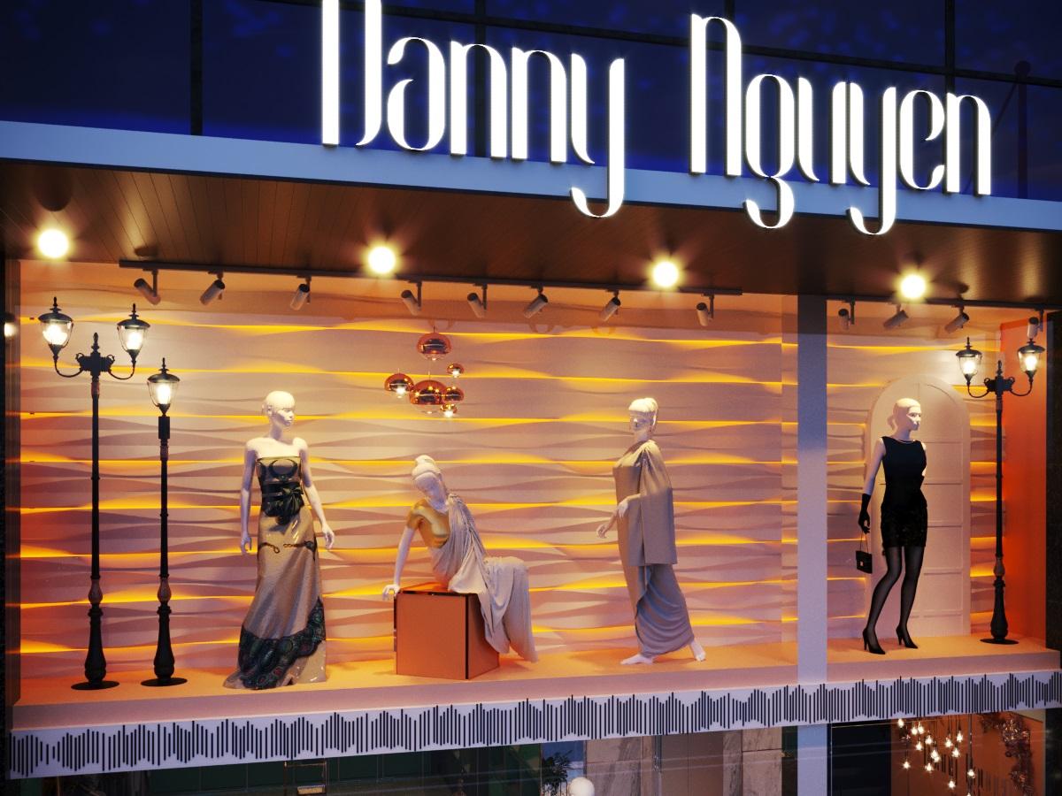 thiết kế nội thất Shop tại Hà Nội SHOP THỜI TRANG DANNY NGUYEN 4 1569650995