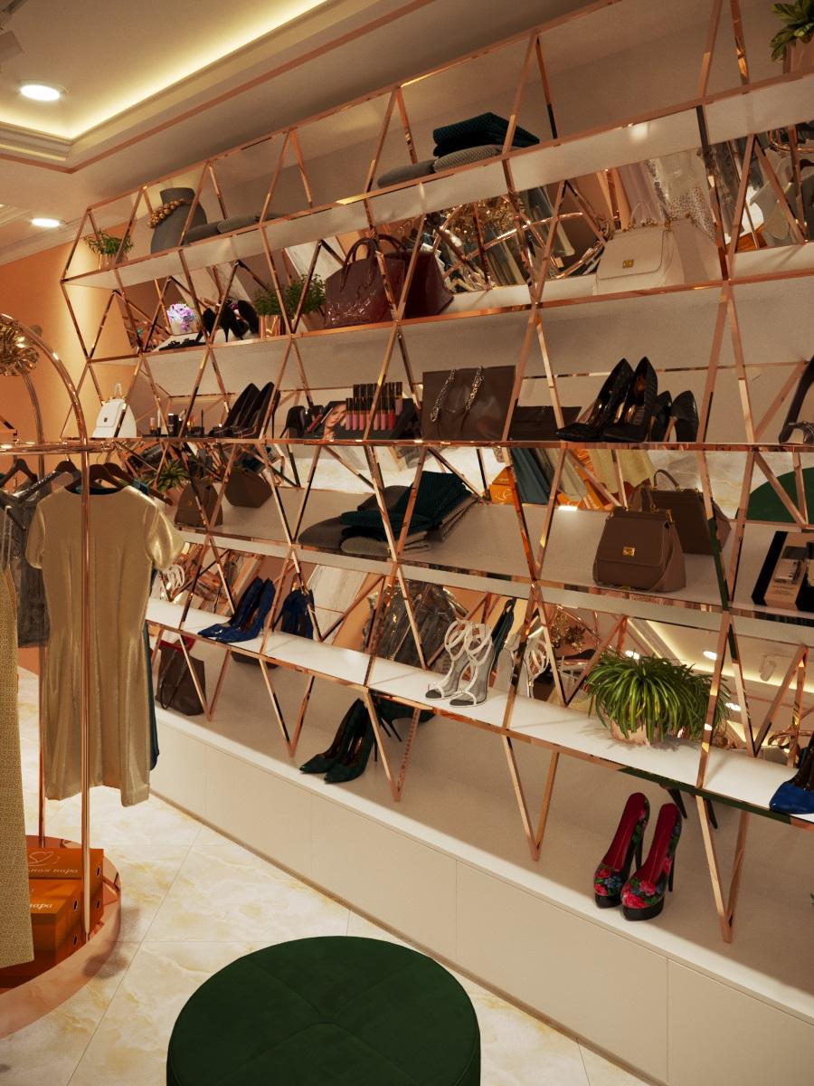 thiết kế nội thất Shop tại Hà Nội SHOP THỜI TRANG DANNY NGUYEN 6 1569650997