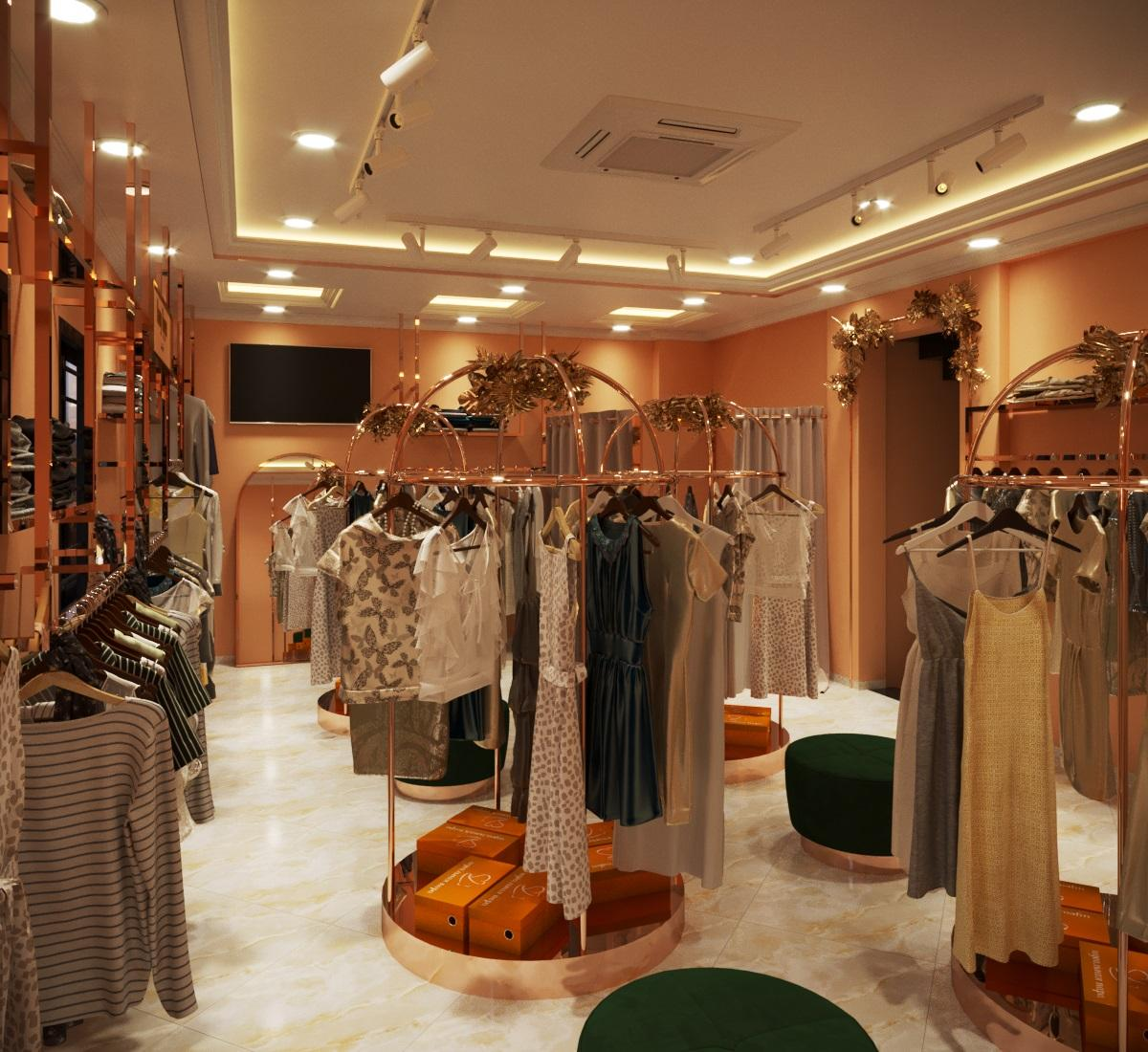 thiết kế nội thất Shop tại Hà Nội SHOP THỜI TRANG DANNY NGUYEN 8 1569650997