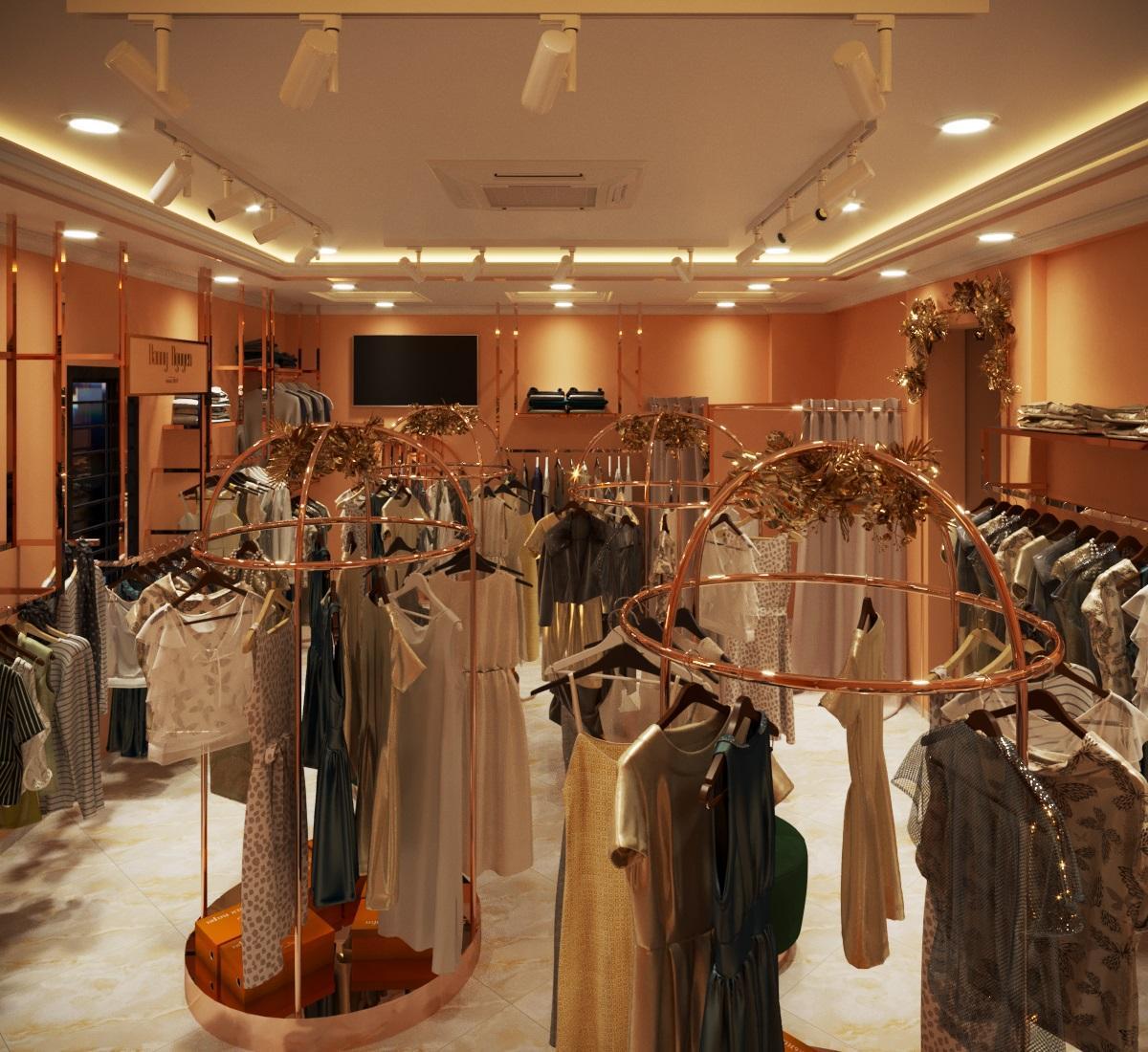 thiết kế nội thất Shop tại Hà Nội SHOP THỜI TRANG DANNY NGUYEN 9 1569650997