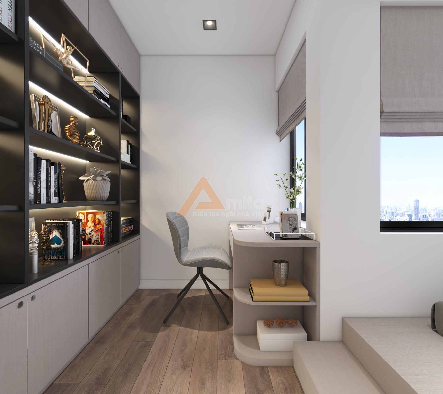 thiết kế nội thất chung cư tại Hà Nội Chung cư New Skyline - Văn Quán 18 1572341534