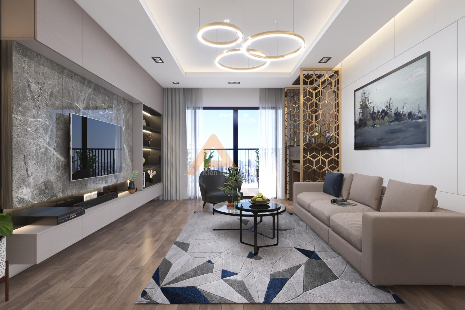 thiết kế nội thất chung cư tại Hà Nội Chung cư New Skyline - Văn Quán 2 1572341528
