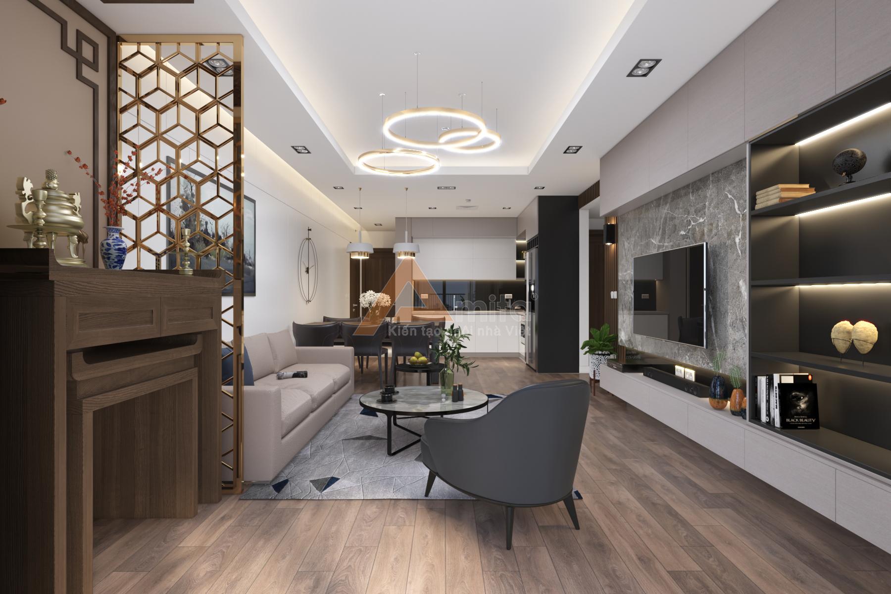 thiết kế nội thất chung cư tại Hà Nội Chung cư New Skyline - Văn Quán 3 1572341528