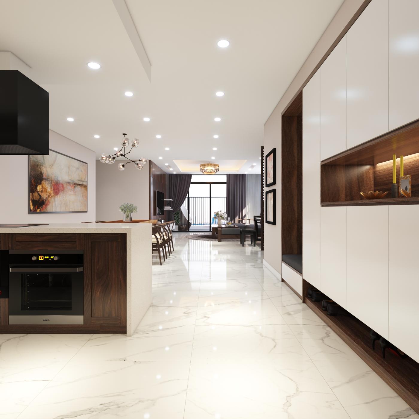 Thiết kế nội thất Chung Cư tại Hà Nội Chung cư New Skyline Văn Quán 1580465734 1