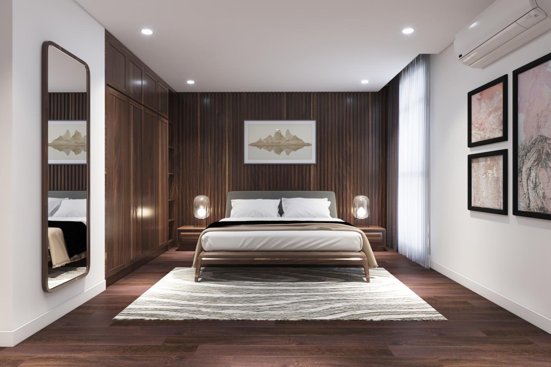 Thiết kế nội thất Chung Cư tại Hà Nội Chung cư New Skyline Văn Quán 1580465735 11