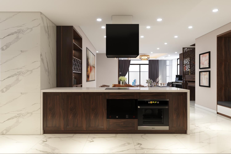 Thiết kế nội thất Chung Cư tại Hà Nội Chung cư New Skyline Văn Quán 1580465735 2