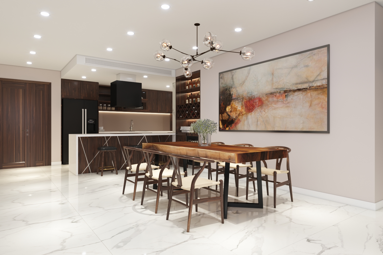Thiết kế nội thất Chung Cư tại Hà Nội Chung cư New Skyline Văn Quán 1580465735 6