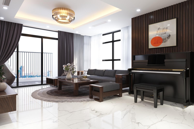 Thiết kế nội thất Chung Cư tại Hà Nội Chung cư New Skyline Văn Quán 1580465735 8