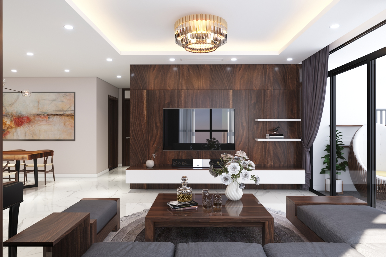 Thiết kế nội thất Chung Cư tại Hà Nội Chung cư New Skyline Văn Quán 1580465736 9
