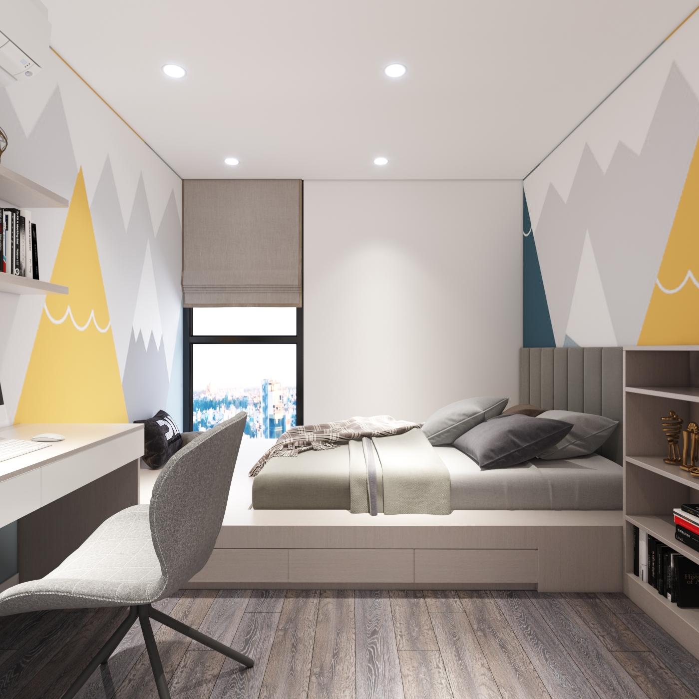 Thiết kế nội thất Chung Cư tại Hà Nội Chung cư New Skyline Văn Quán 1580465737 18