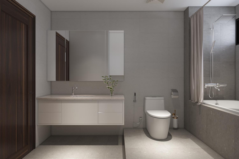 Thiết kế nội thất Chung Cư tại Hà Nội Chung cư New Skyline Văn Quán 1580465738 23