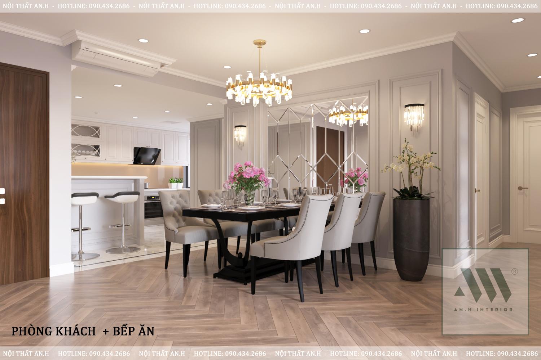 Thiết kế nội thất Chung Cư tại Hà Nội CHUNG CƯ RAINBOW VĂN QUÁN 1604910383 2