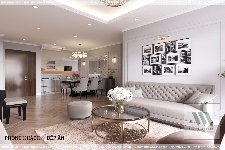 Thiết kế nội thất Chung Cư tại Hà Nội CHUNG CƯ RAINBOW VĂN QUÁN 1604910383 3