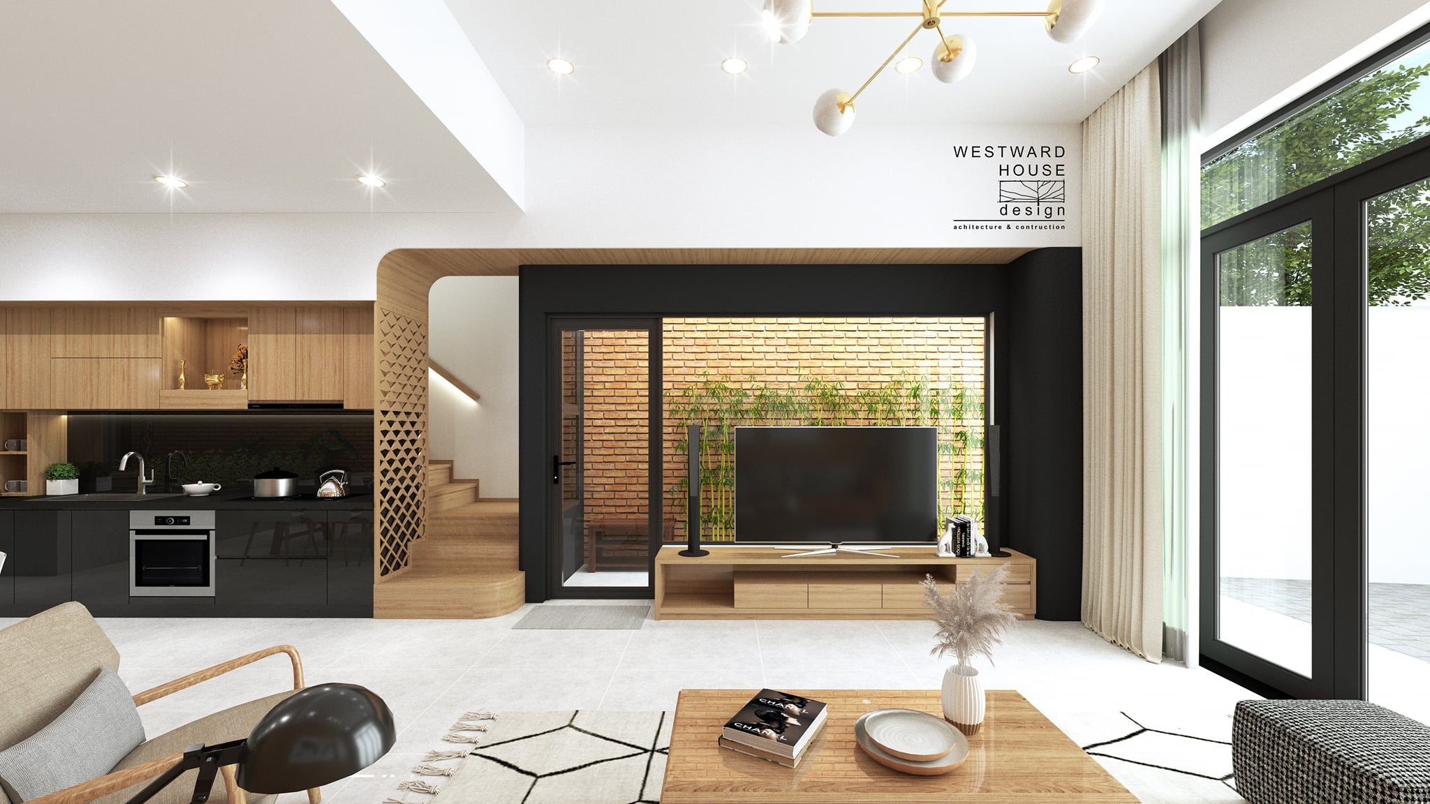 Thiết kế Nhà Mặt Phố tại Quảng Nam THE WATERFALL - NHÀ A TUẤN 1601993786 4