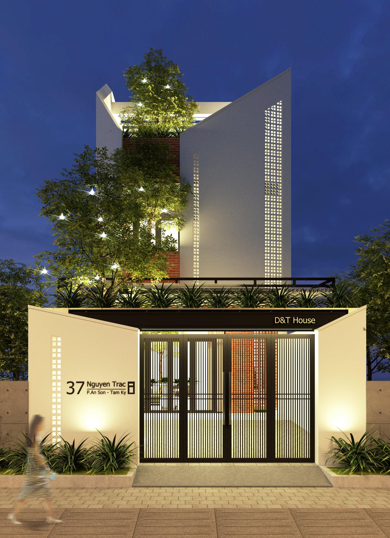 Thiết kế Nhà Mặt Phố tại Quảng Nam THE WATERFALL - NHÀ A TUẤN 1601993787 2